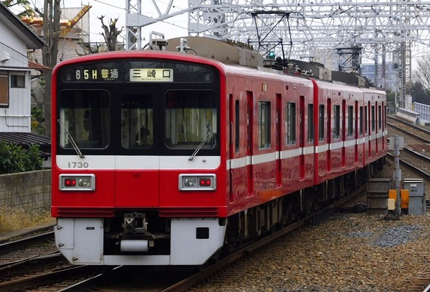 京急1500形1725F 普通KK72三崎口(864H)