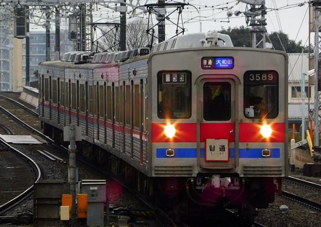 普通KS30大和田 3500形3592F(755レ)