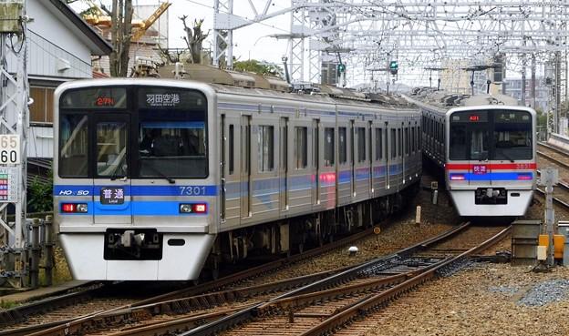 北総7300形7308F 普通KK17羽田空港(926N)