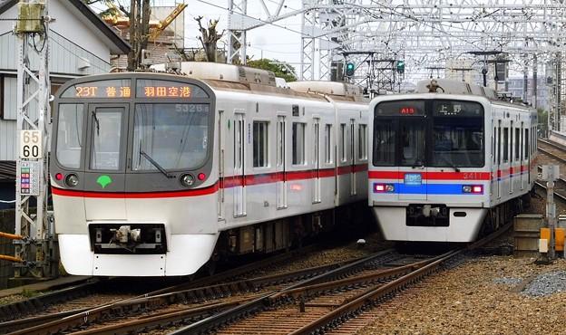 都営5300形5326F 普通KK17羽田空港(822T)