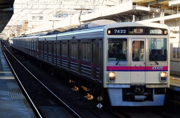 区間急行KO01新宿 7000系7422F-9000系9708F(4002レ)