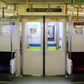 Photos: 都営新宿線10-000形(7次車)側面ドア