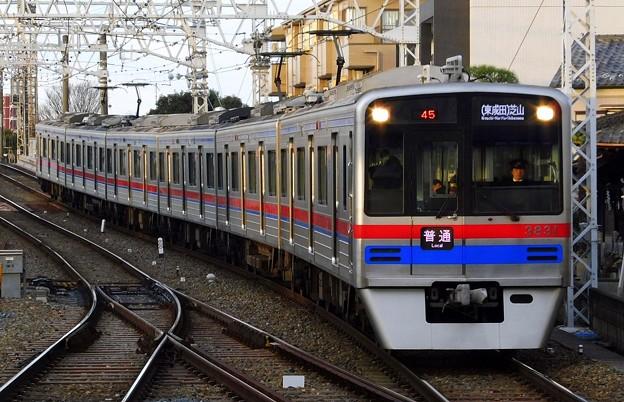 普通SR01(東成田)芝山(745レ)3700形3838F
