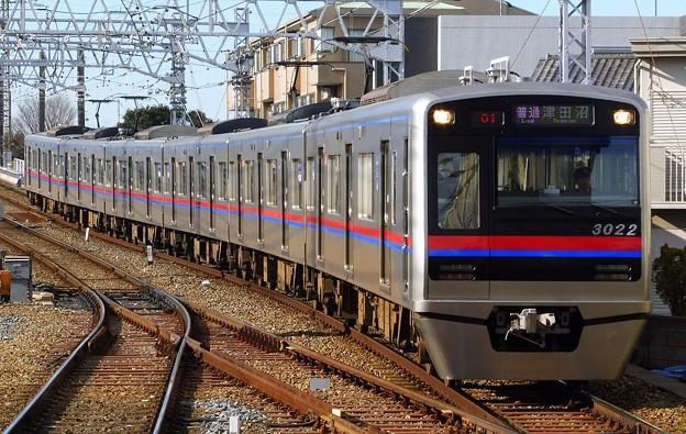 普通KS26津田沼 3000形3022F(901レ)