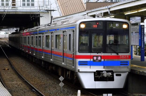 普通KS01上野 3700形3828F(832レ)