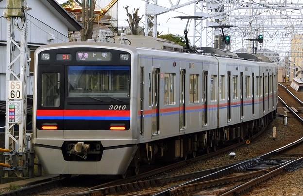 普通KS01上野 3000形3016F(730レ)