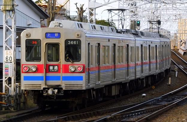 普通KS01上野 3600形3668F(638レ)