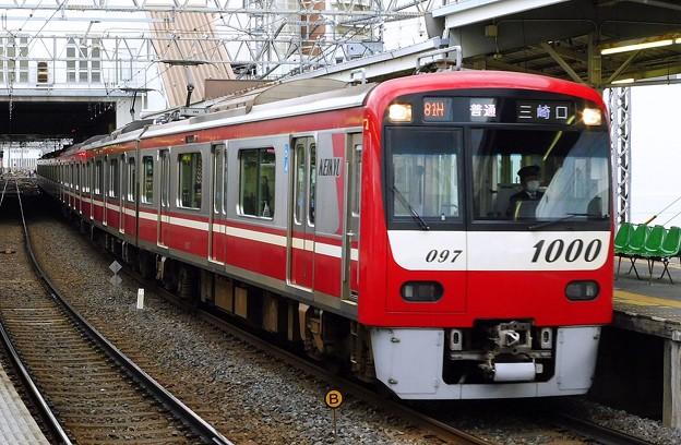 京急1000形1097F 普通KK72三崎口(1480H)