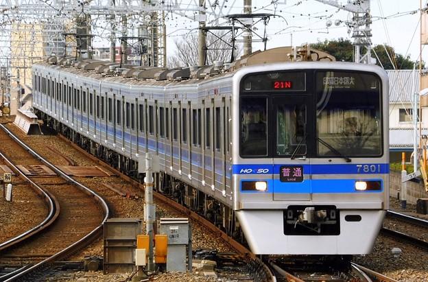 普通HS14印旛日本医大(821N)北総7300形7808F