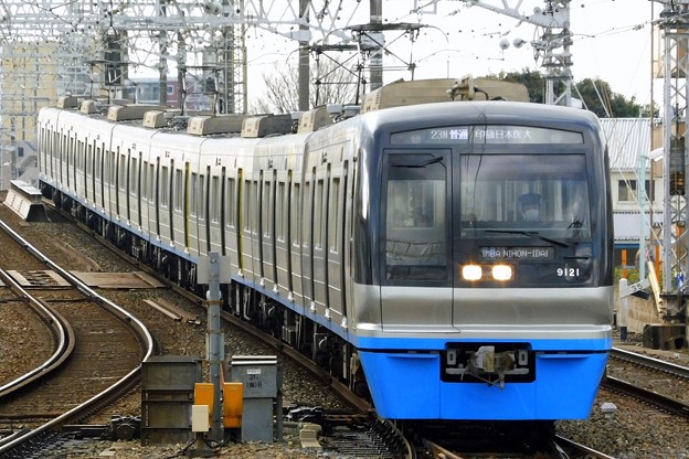 普通HS14印旛日本医大(1323N)北総9100形9128F