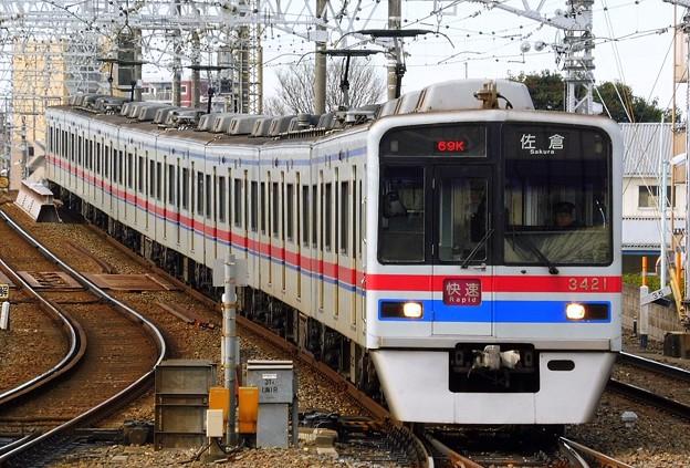 快速KS35佐倉(969K)3400形3428F