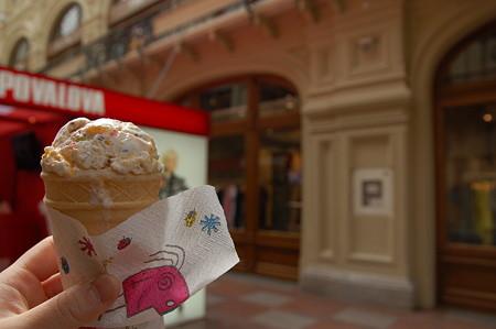 グム百貨店のアイス