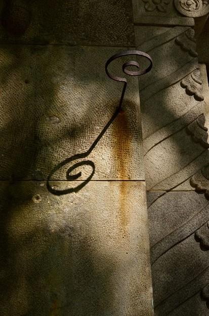 ト音記号が産まれそうな錆びた影
