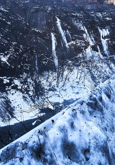 冬の中津峡