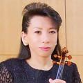 写真: 北原よし子 きたはらよしこ ヴァイオリニスト ヴァイオリン奏者     Yoshiko Kitahara
