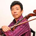 写真: 丸山泰雄 まるやまやすお チェロ奏者 チェリスト        Yasuo Maruyama