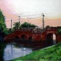 写真: 水元・閘門橋