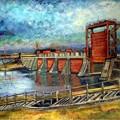 写真: 赤水門