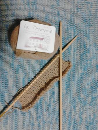 編みはじめ