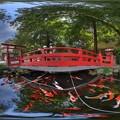 小梳神社 360度パノラマ写真 HDR