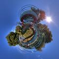 日本平運動公園 すべり台 Little Planet(1) HDR