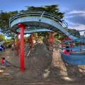 日本平運動公園 すべり台 360度パノラマ写真(3) HDR