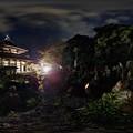 2014年10月18日 清見寺 五百羅漢 ライトアップ 360度パノラマ写真 HDR