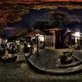 写真: 2016年1月1日 利倉神社 初詣 360度パノラマ写真 HDR
