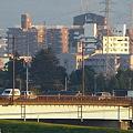 Photos: 夕日の街・・・