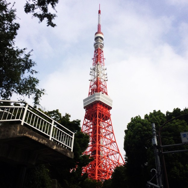写真: 140906 東京タワー