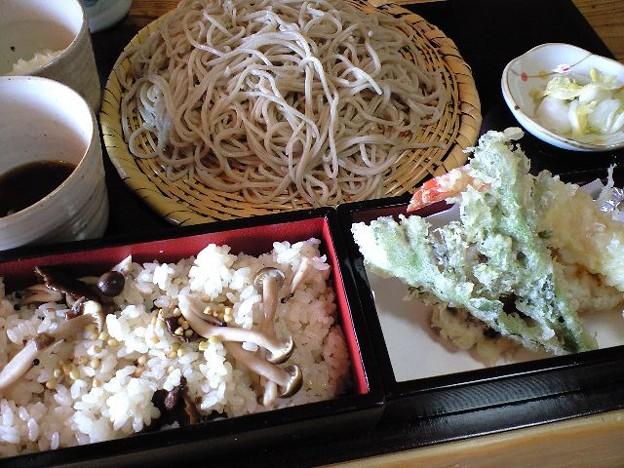 富山のおろし蕎麦セット