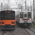 Photos: 東武50000系と10030系の離合