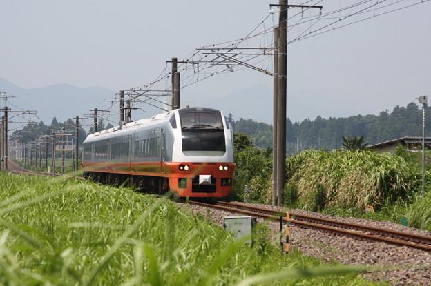 E653系K353編成 9741M 集約臨時列車 (2)
