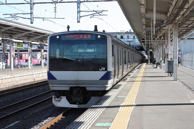 E531系K466編成 3397M 特別快速土浦行