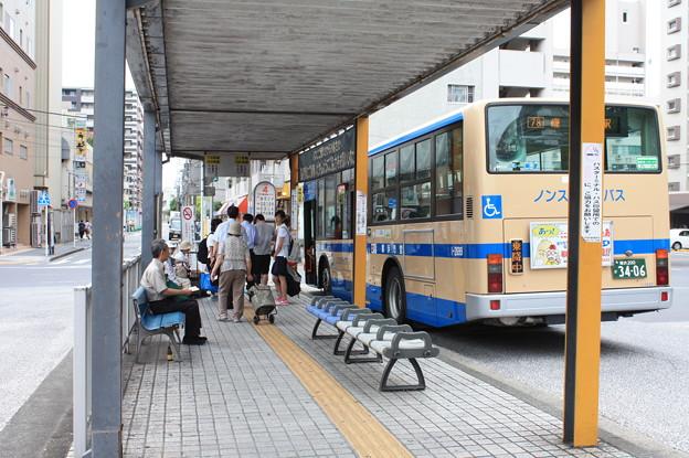 根岸駅バス停留所 4番のりば