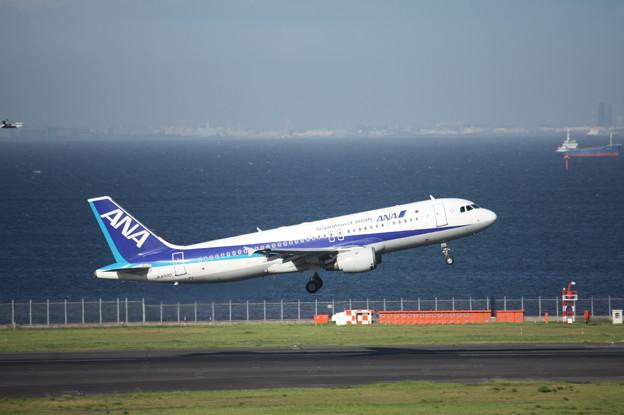ANA エアバスA320-200 JA8300 1