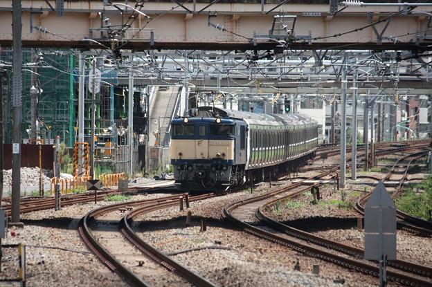 E231系500番台トウ520編成8両 新津配給