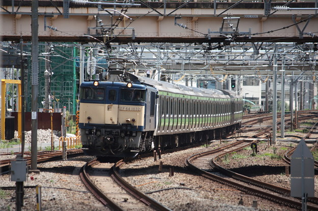 E231系500番台トウ520編成8両 新津配給 7