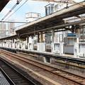 Photos: 山手線鶯谷駅ホームドア設置