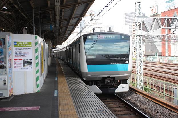 京浜東北線 E233系1000番台ウラ155編成