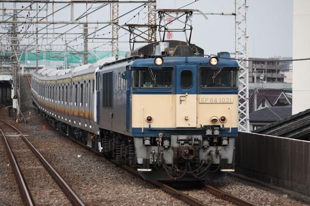 南武線E233系8000番台N5編成 配給輸送 7
