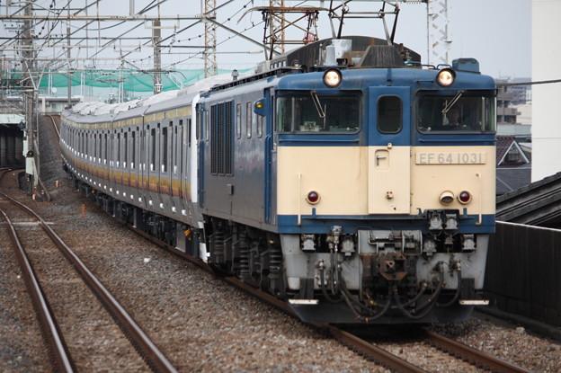 南武線E233系8000番台N5編成 配給輸送 8