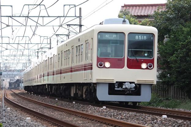 新京成電鉄8500形8518編成 松戸行