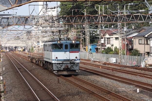 配8592レ EF65 2068牽引 2