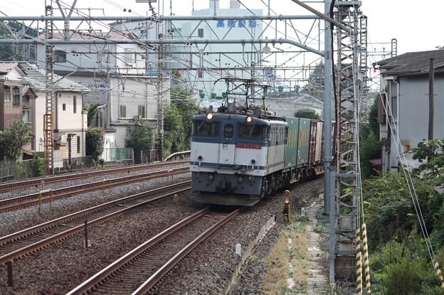 74レ EF65 2081牽引 1