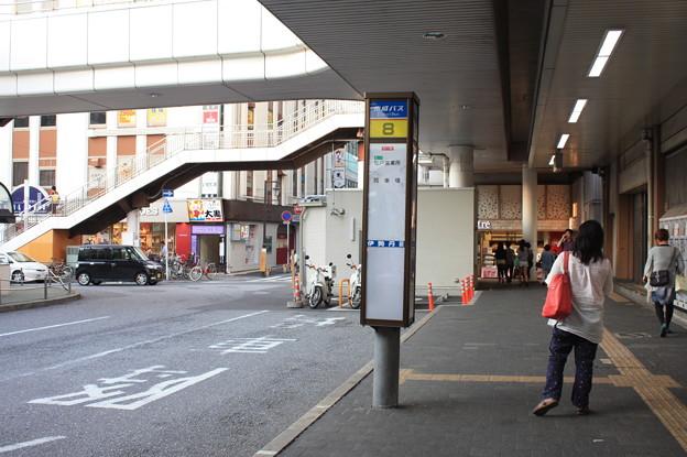 松戸駅西口 京成バス 8番のりば