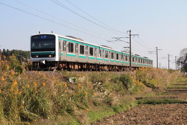 E501系K752編成 534M 普通土浦行