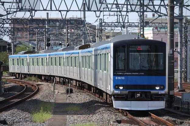 東武野田線 60000系61610F
