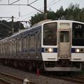 水戸線 415系1500番台K535編成 758M 普通小山行