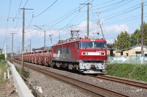 安中貨物 5094レ EH500-79牽引 (5)